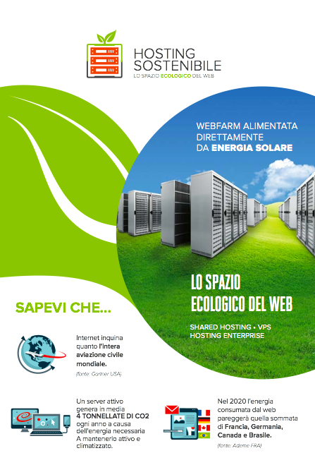 Info Hosting Sosstenibile
