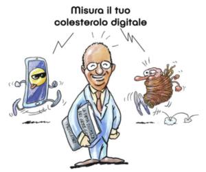 Colesterolo digitale al Cowo Milano Lambrate: libro sulla dieta digitale