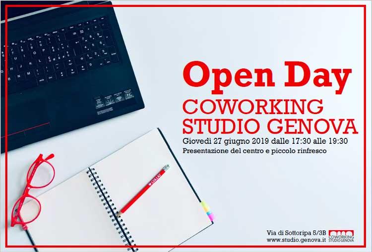 Presentazione open day coworking genova
