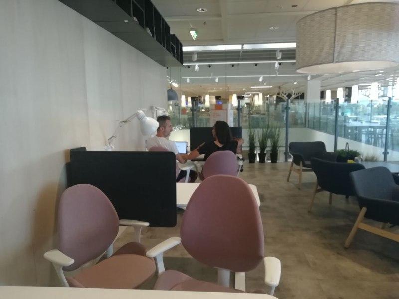 Spazio Ikea Coworking Area