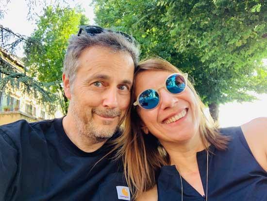 Massimo Carraro e Laura Coppola, fondatori Rete Cowo