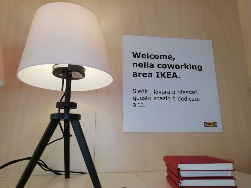 Area Coworking all'Ikea