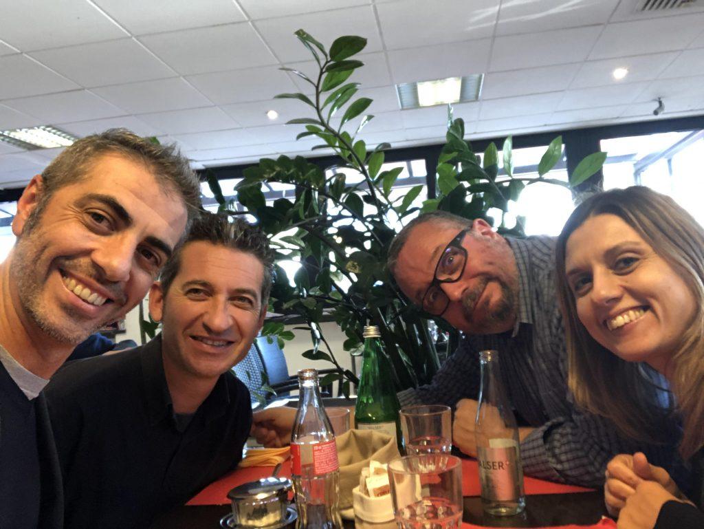 Pranzo al Coworking Lugano Nord