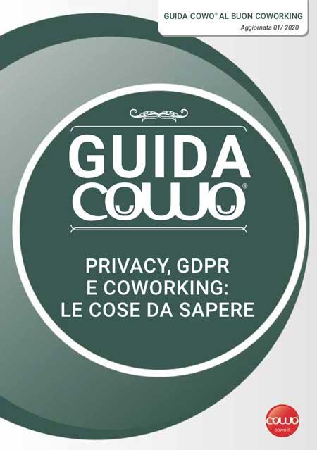 Guida Coworking al GDPR e alla Privacy