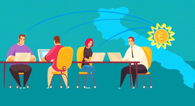 incentivi coworking puglia - rete cowo